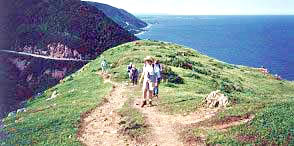 Active vacations in Nova Scotia, Canada for senior travelers.
