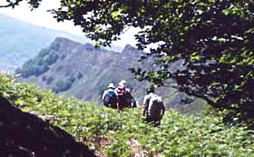 Hiking tour in Corsica, France for senior travelers.