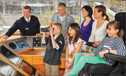 Special features and fares for multi-generational families, Uniworld river cruising in Europe.