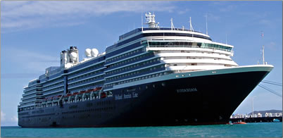 MS Oosterdam is part of the Holland America cruise line.
