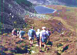 Walking and nature vacations for senior travelers in Britain.