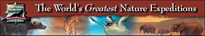 Natural Habitat Adventures banner.