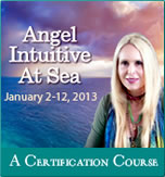 Doreen Virtue delivers an Angel Intuitive at Sea certification course in January 2013.