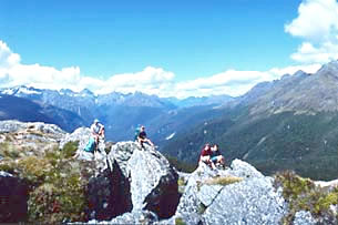 Hiking adventure tours in New Zealand for active senior travelers.