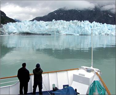 Alaska small-ship cruise during Glacier Bay National Park visit.