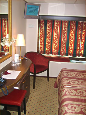 Amadeus Royal stateroom, European River Cruise from Amsterdam to Vienna.