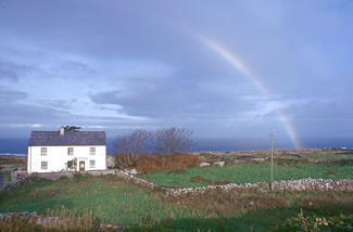 Aran Islands farm, Ireland.