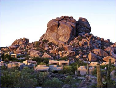 The Boulders Resort & Golden Door Spa, Scottsdale, Arizona's Sonora Desert.