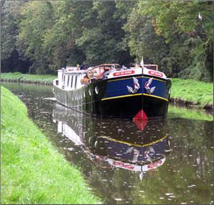 Canal du Nivernais bridge, barging with European Waterways, Burgundy, France.
