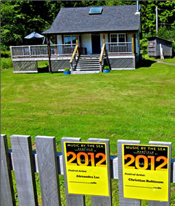 Host families for Bamfield's Music Festival by the Sea.