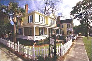 Ash Street Inn, Amelia Island, Northern Florida.