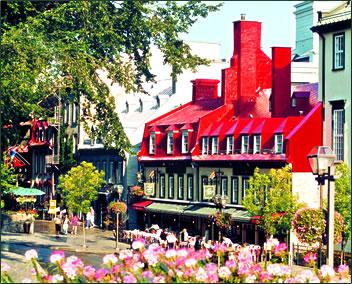 Auberge du Tresor, Quebec City historic accommodation.