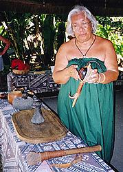 Waimea Falls Audubon Center on Oahu, Hawaii