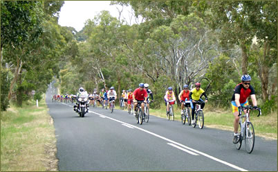 Great Victorian Bike Ride, Australia vacations for seniors.
