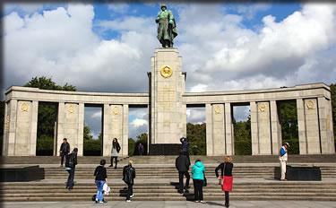 Berlin, Germany's Soviet War Memorial, Berlin Outdoor Public Art.