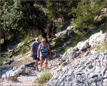 Brac island, Croatia islands tourism for active seniors.