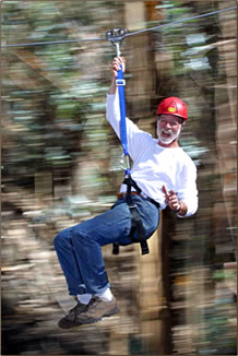 Skyline Eco-Adventures offers zipline adventures with conservation education on Maui, Hawaii.