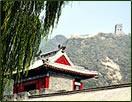 Great Wall of China hiking vacation, walking holiday for seniors.