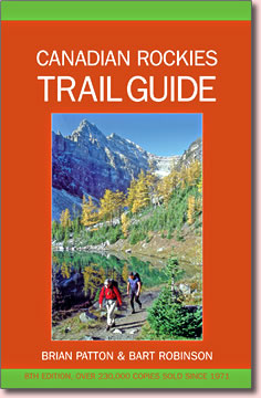 Canadian Rockies Trail Guide by Brian Patton and Bart Robinson.