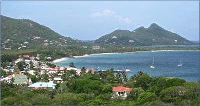 Hillsborough, Carriacou harbor, Grenada, Caribbean travel Grenada articles.