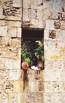 Inside Rhodes' medieval city