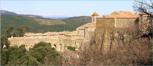 Chartreuse de la Verne monastery, French Riviera hiking trails for active senior travel.