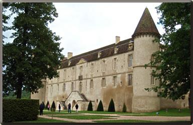 Chateau de Bazoches, Burgundy, France.