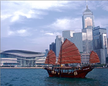 Chinese Junk in Hong Kong's Victoria Harbour, Hong Kong delivers more than great shopping: experience culinary, cycling, history and Kung Fu tours.