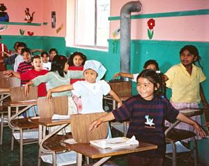 Tarahumara school in Mexico's Copper Canyon.
