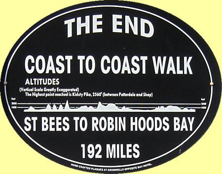 England's Coast to Coast Walk in 15 days.