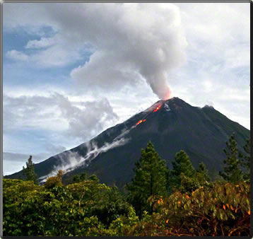 Arenal National Park volcano, Top Picks of Costa Rica's National Parks.