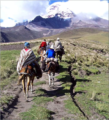 Cotopaxi National Park in Ecuador is a Highlands travel experience.