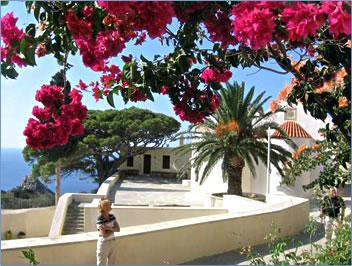 Preveli Monastery, Crete, Greece.