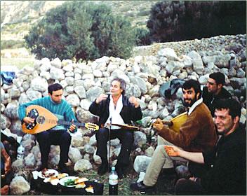 Crete music, Greek music, Greek Islands, Greece.