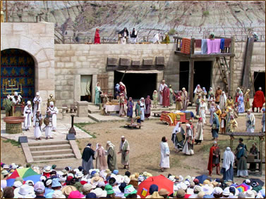 Canadian Badlands Passion Play, Alberta cultural vacations.