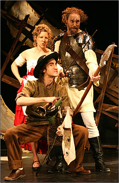 Rosebud Theatre performance of Don Quixote is part of Alberta's rural theatre and history.