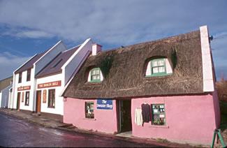 Doolin town, County Clare, Ireland.
