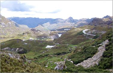El Cajas National Park, Ecuador.