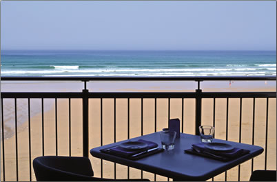 British restaurants with a great view, Fifteen Cornwall, England.