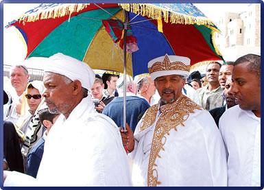 Ethiopian Jews: Jerusalem travel images.