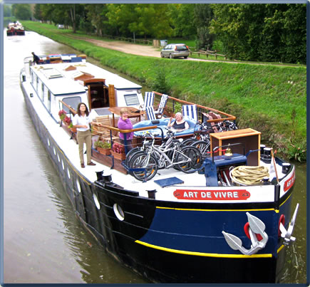 A canal barging holiday with European Waterways in Burgundy, France is a classic cruise adventure.