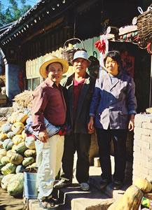 China Hiking Adventures meets China village life.