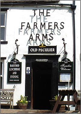 The Farmers Arms pub on England's Coast to Coast Walk.