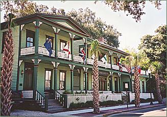 Florida House Inn, Amelia Island, Northern Florida b and b accommodation.
