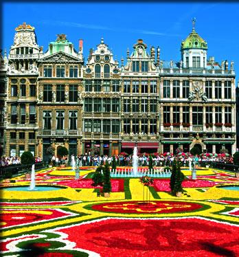 Brussels in Bloom, international flower festivals.