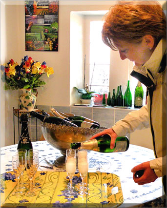 Nothing like sipping champagne in Champagne itself, while staying awhile to learn about this famous beverage.