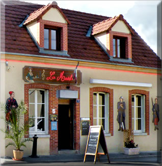 Mancy's La Madelon Restaurant: eating and sleeping in the Champagne region of France.