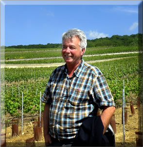 Owner of Champagne Lecomte, Champagne region of France.