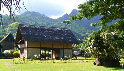 Paul Gauguin's house, Marquesas Islands, French Polynesia.