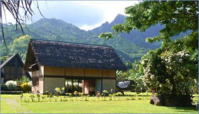Paul Gauguin's house, Marquesas Islands, French Polynesia.